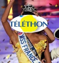 Comme tous les ans, face au Téléthon, il y aura l' élection de Miss France ...