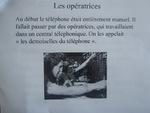 """Exposé """"L'histoire du téléphone"""" par Aubane et Juliette"""