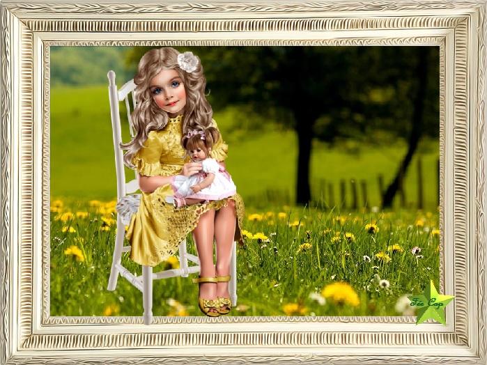 La fillette et sa poupée