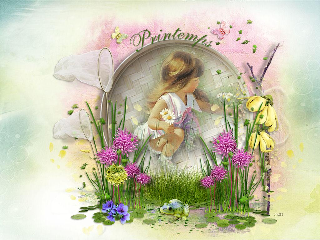 Fond ecran printemps page 3 mcreations for Images du printemps gratuites