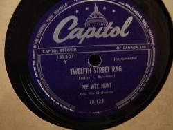Pee Wee Hunt : 12th Street Rag (1948)