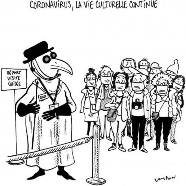 Encore quelques dessins humoristiques bien utiles en ces périodes compliquées...