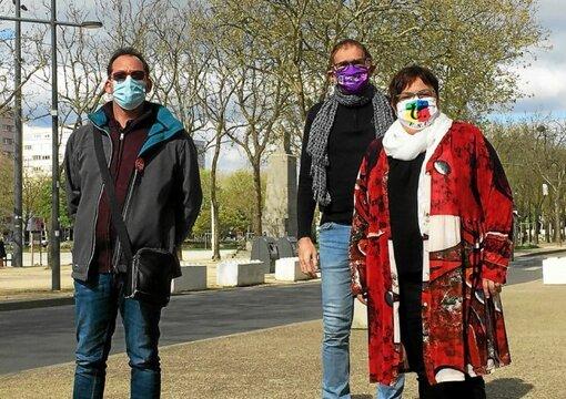 Stéphane Le Roux (CGT), Régis Barrué et Claire Hareux (FSU) détaillent les différentes mobilisations prévues pour les agents de la fonction publique, ce jeudi, à Lorient et Vannes.