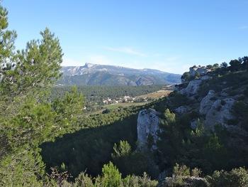 La plaine de Roquefort et le Pic de Bertagne
