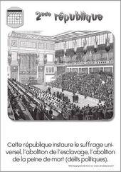 Repères pour le XIX : 2ème partie (1848 à 1903)