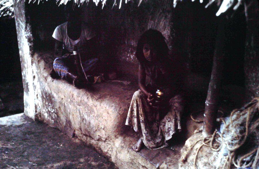 SUITE N°2 SUR L'INDE    CAP COMORIN EN 1978