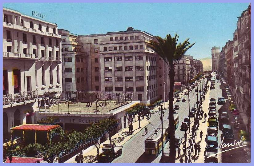 Alger, Rue Alfred Lelluch - Boulevard Bugeaud