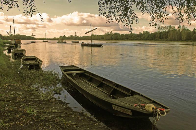 les barges de la Loire