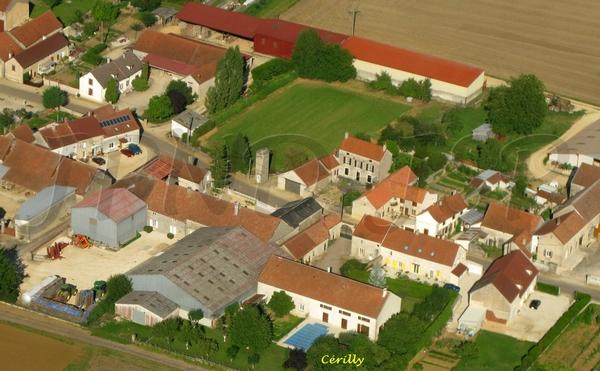 Le canton de Laignes vu du ciel...