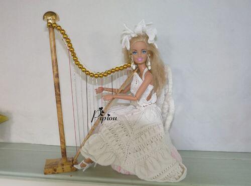 """Ma création pour le défi """"Accessoires pour Barbie"""""""
