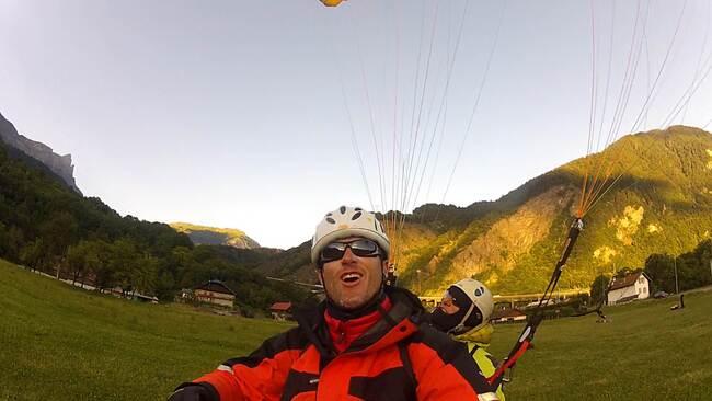 Ascencion Mont-Blanc et parapente
