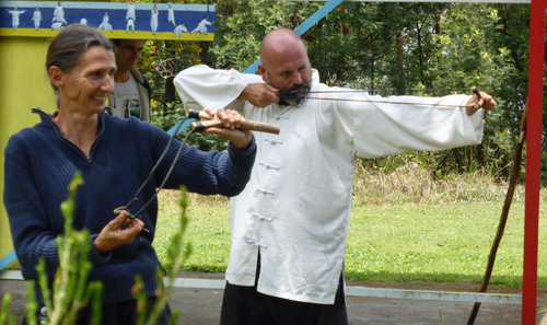 Traditional Manchu Archery