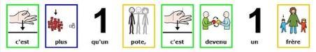 """Karaoké en pictogrammes :  """"A kele nta"""" / MHD"""