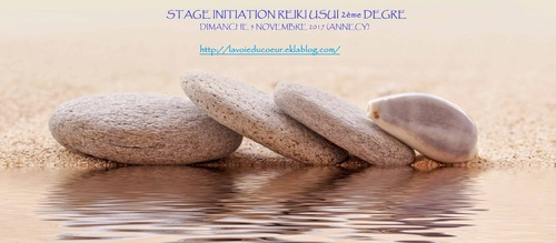 Initiation Reiki Usui 2nd degré
