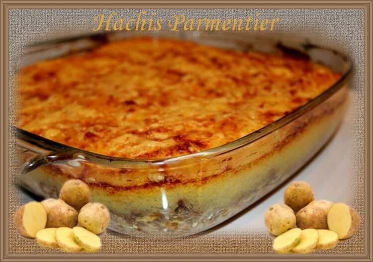 Recette de cuisine : Hachis Parmentier