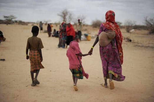 Réfugiés climatiques, Somalie, juillet 2011