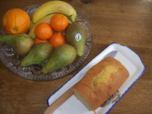 Gâteau à l'orange .
