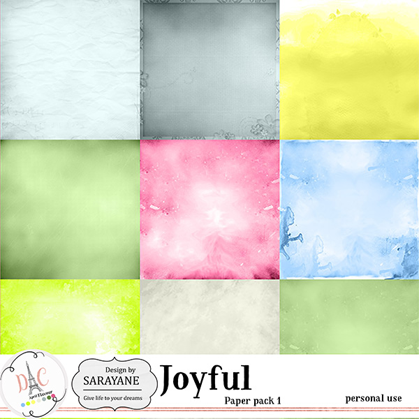 Joyful {PU papers 1} by Sarayane