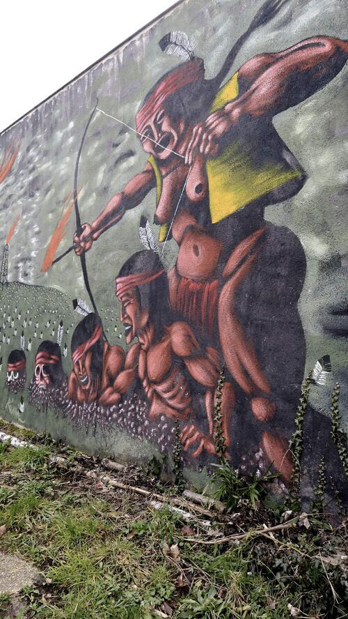 Fresque à Animakt (Saulx-les-Chartreux)