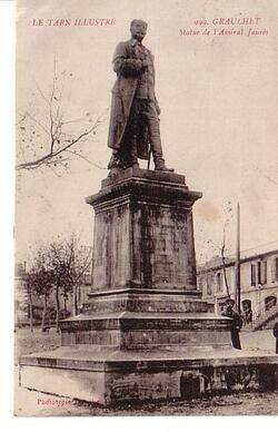 STATUE DE L'AMIRAL JAURES