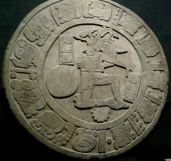 Musée Mexico Disque Maya