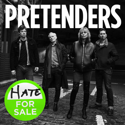Retour gagnant ? The Pretenders - Hate for sale (2020)