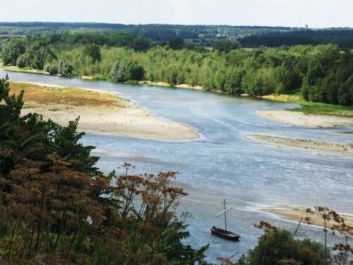 Bords de Loire à Chaumont, parc du château