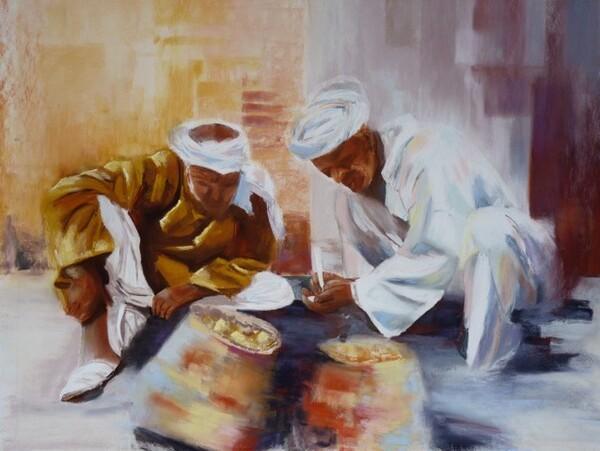 Peinture de : Mireille Ledrapier