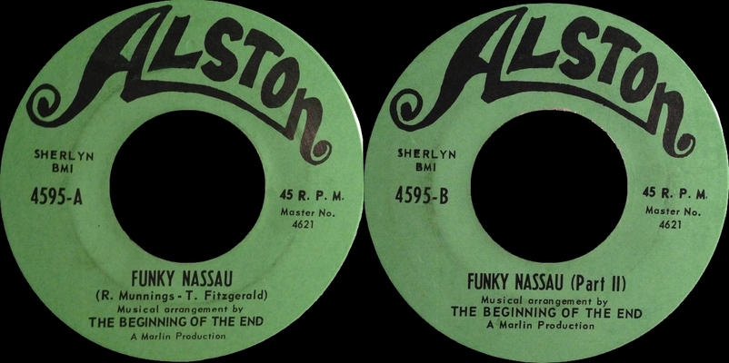 "The Beginning Of The End : Album "" Funky Nassau "" Alston Records SD 33-379 [US]"