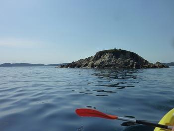 L'îlot qui prologe le cap de l'Estérel