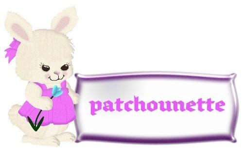 Patchounette lapin violet
