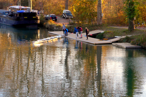 Canal du Midi: l'aviron ...