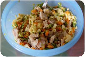 Recette - Porc aux légumes