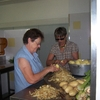 épluchage des pommes de terre