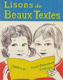 5. Juredieu, Lisons de beaux textes CE2 (1972)