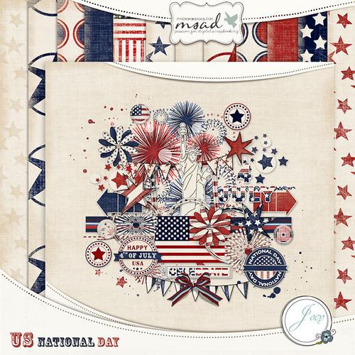 JOEY: 2 kits pour les Fêtes Nationales française et US