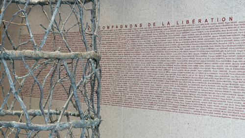 * Compagnons de la Libération - une scuplture inaugurée en mai dernier au Sénat
