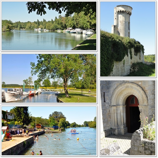 Les bords de la Charente