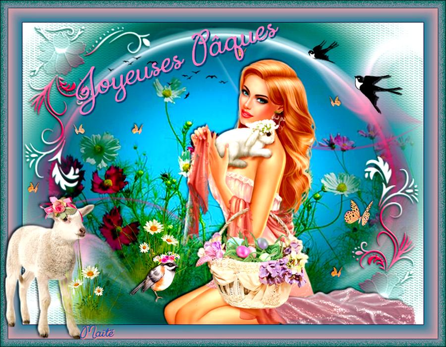 Belles et Joyeuses Pâques à Tous..