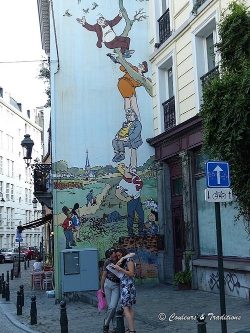 Parcours BD à Bruxelles