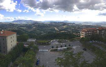 Panorama depuis San Marino