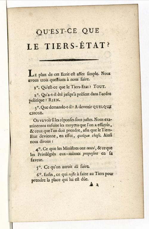 La Révolution française et l'empire
