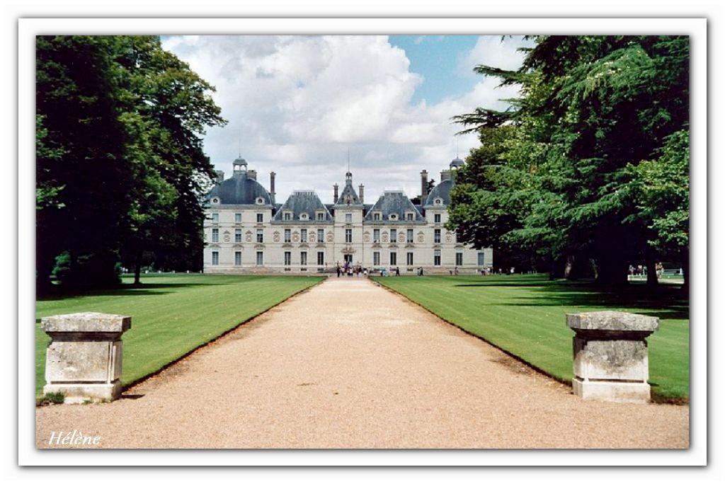 """23 septembre 2013  """"château de Cheverny (que nous n'avons pas pu visiter)"""