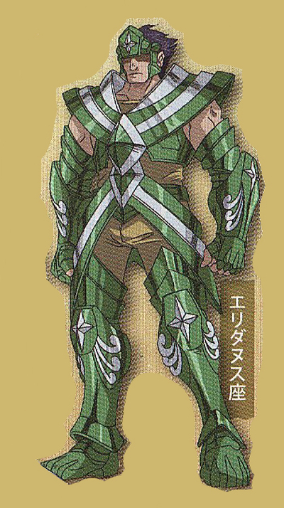 X - Armure d'Eridan (Eridanus Cloth)
