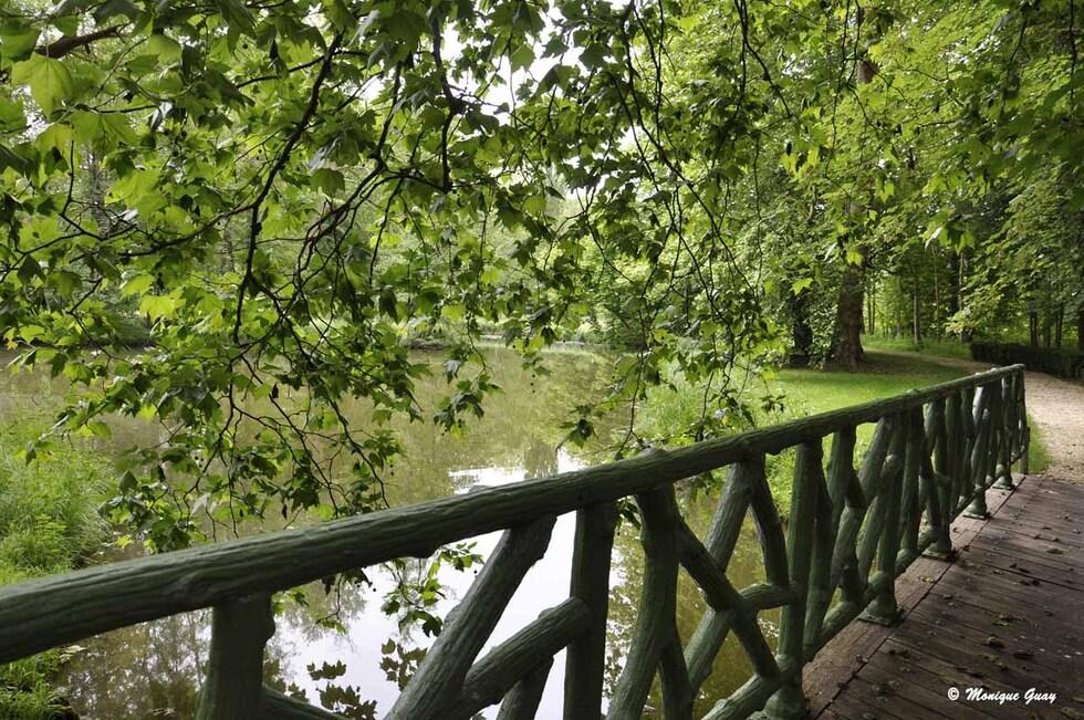Le Grand Canal et les parterres à la française
