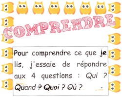 Affichage COMPRENDRE CE1