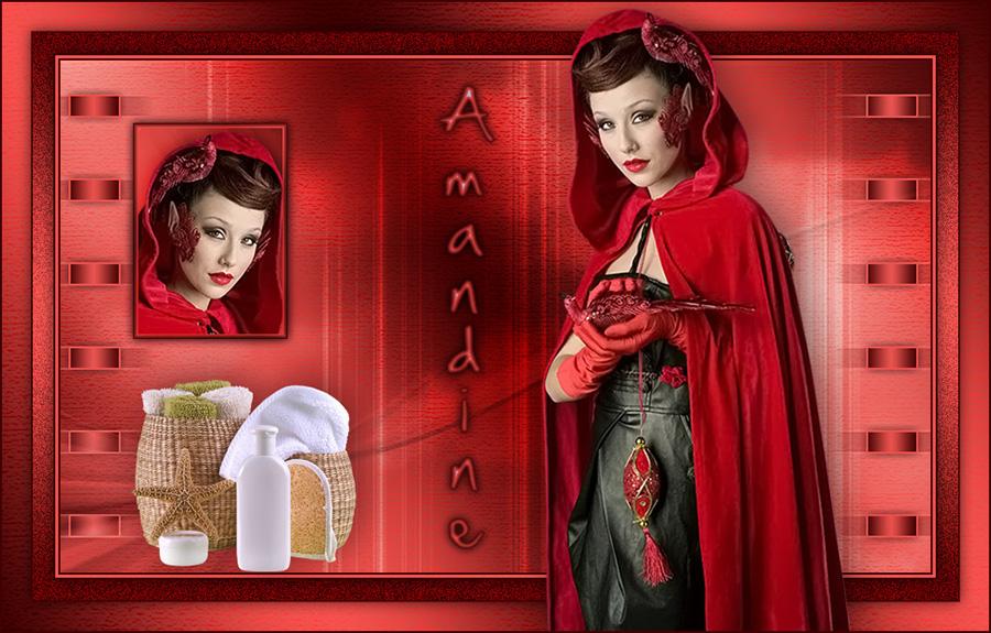Vos versions Amandine