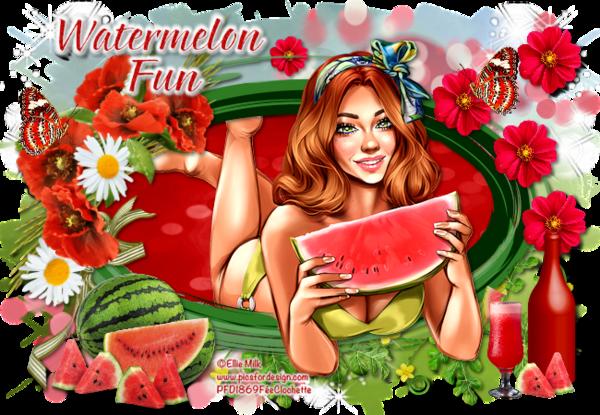 Watermelon fun