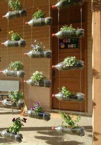 Idée Pinterest : Le jardin suspendu.