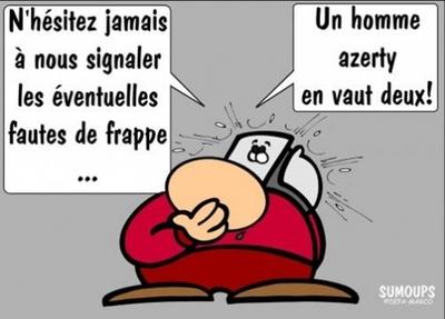 Les bonnes blagues belges sont de sorties.
